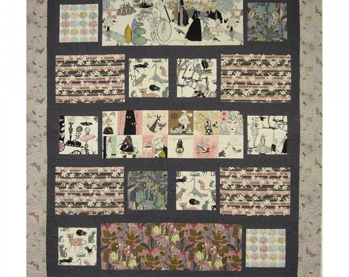 Byways pattern #458 pieced quilt -  Paper Sewing Pattern