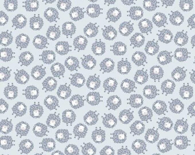 Dear Stella - Deja Moo -Sheep on Cloud - Cotton Woven Fabric