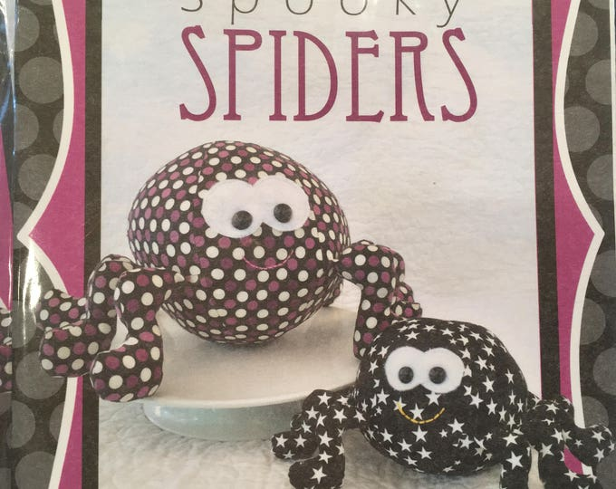 Pattern -  Spooky Spiders Pattern - SALE !! Was 11.99 now 9.99