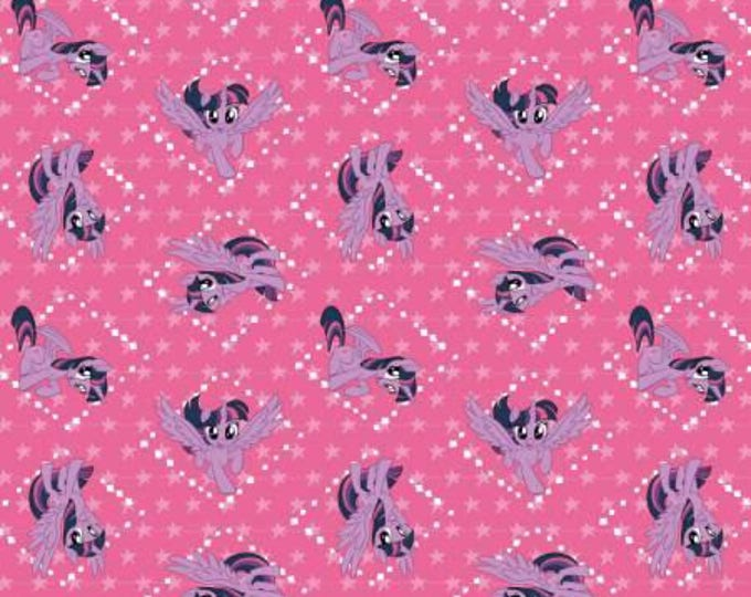 Pink Twilight Sparkle, My Little Pony Digital Cotton Woven
