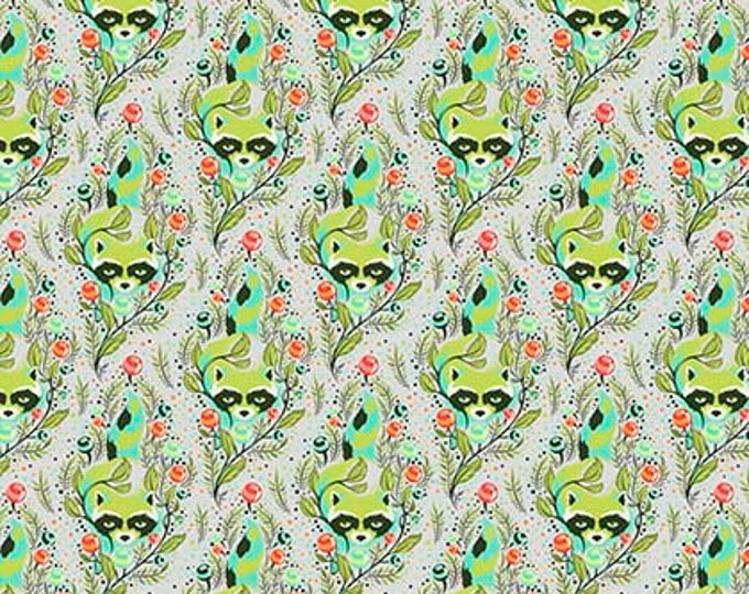 All Stars Agave Raccoon by Tula Pink for Free Spirit Fabrics