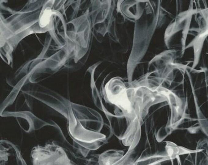 Timeless Treasures - Black Smoke  Cotton Woven