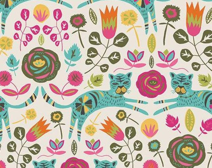 Art Gallery Fabric - Tallinn by Jessica Swift -  Tigris Lollipop cotton spandex knit