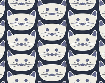 Art Gallery Fabric - Art District - Cat Nap - Cotton Woven Fabric - Art Gallery Fabrics