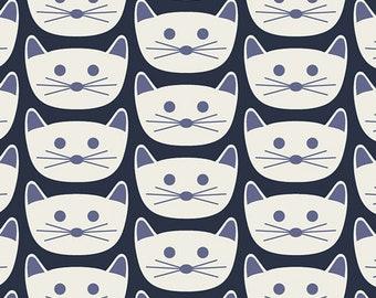 Art Gallery Fabric - Art District - Cat Nap - Cotton Woven Fabric - Art Gallery Fabrics