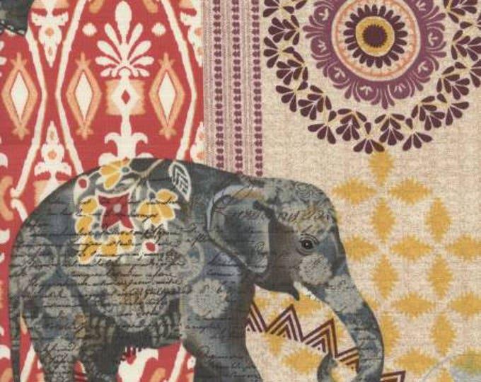 Multi Suzani Elephant Parade Cotton Woven by Timeless Treasures