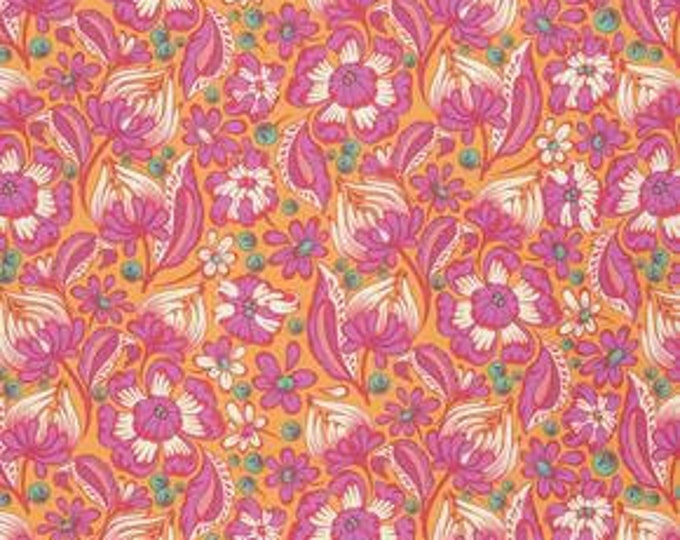 Tula Pink - Chipper - Wild Vines Sorbet Cotton Woven Fabric