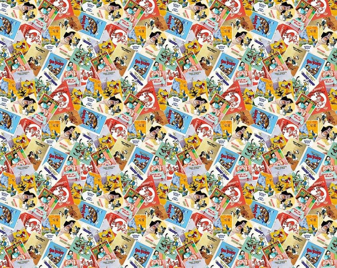 Springs Creative - Disney Donald Duck Posters Cotton Woven Fabric