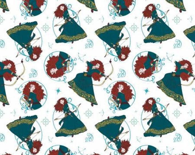 Camelot Fabrics - Disney Princesses - Princess Merida Disney Princesses Cotton Woven by Camelot Fabrics