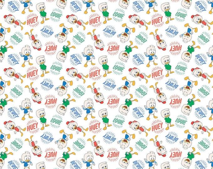Springs Creative - DuckTales - Huey, Dewey, Louie Cotton Woven Fabric