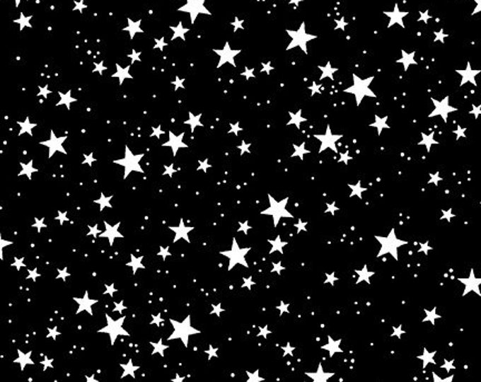 Blank Quilting - So Adora-Boo! - Black Stars #9667G-99 Glow in the Dark Cotton Woven Fabric