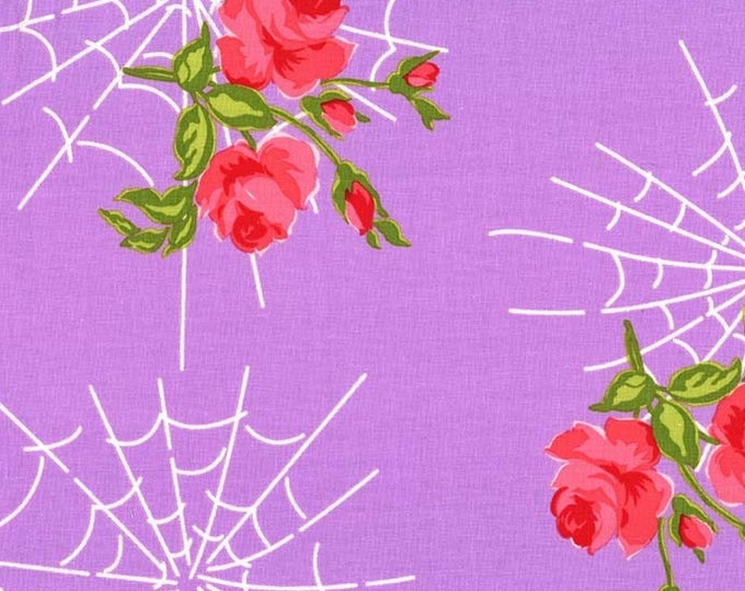 Charming by Gertie - Kiss of the Spider Woman - Lavender - Cotton Woven Fabric