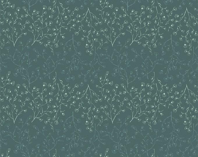 Art Gallery Fabric - Gathered - Verdure - Spruce - Cotton Woven