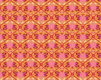 Tula Pink -  All Stars -  Marigold Bee Cotton Woven Fabric