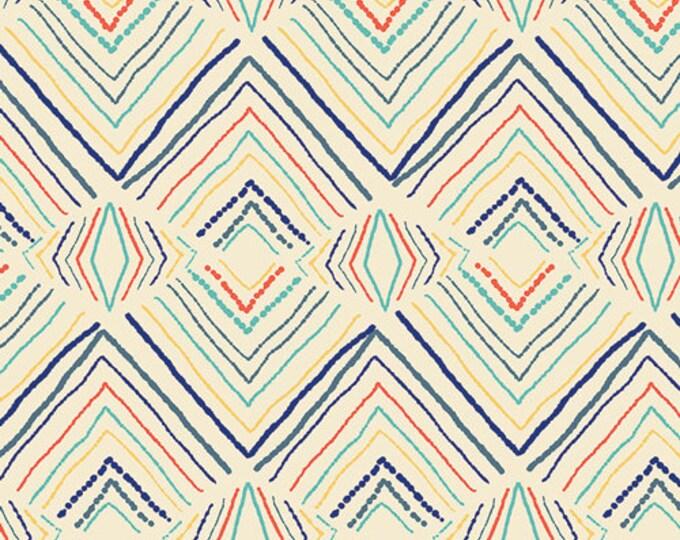 Sirena - Sand Wavelength - Art Gallery Fabrics - cotton spandex knit
