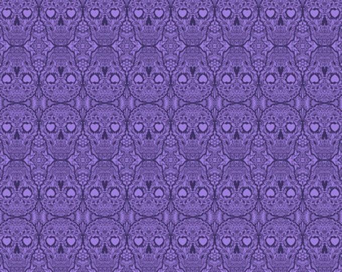 Tula Pink - De La Luna -  Sugar Skulls Oracal Cotton Woven Fabric
