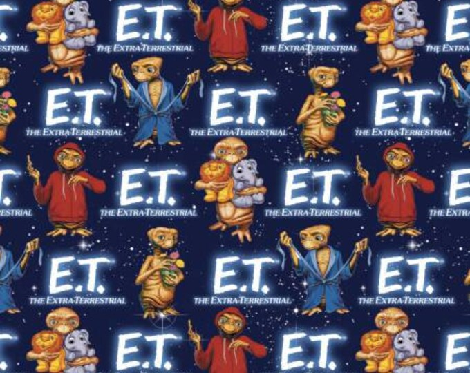 Springs Creative - E.T. with animals Cotton Woven Fabric