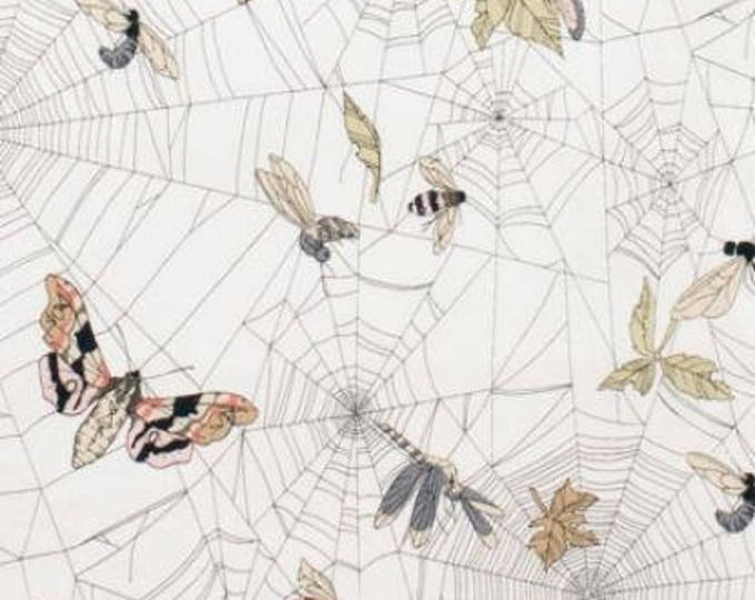 Alexander Henry, A Ghastlie Web Natural Cotton Woven