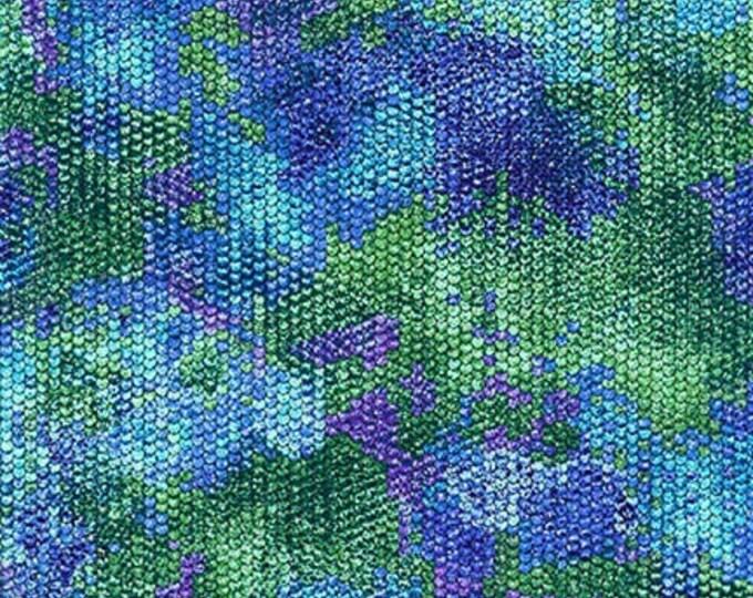 Robert Kaufman Fabrics - Atlantia - Lagoon SRKM-18284-71  Cotton Woven Fabric