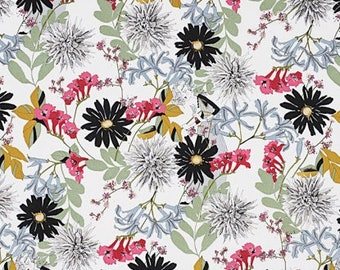 Alexander Henry Fabric - A Ghastlie Snip - Natural - Cotton Woven Fabric