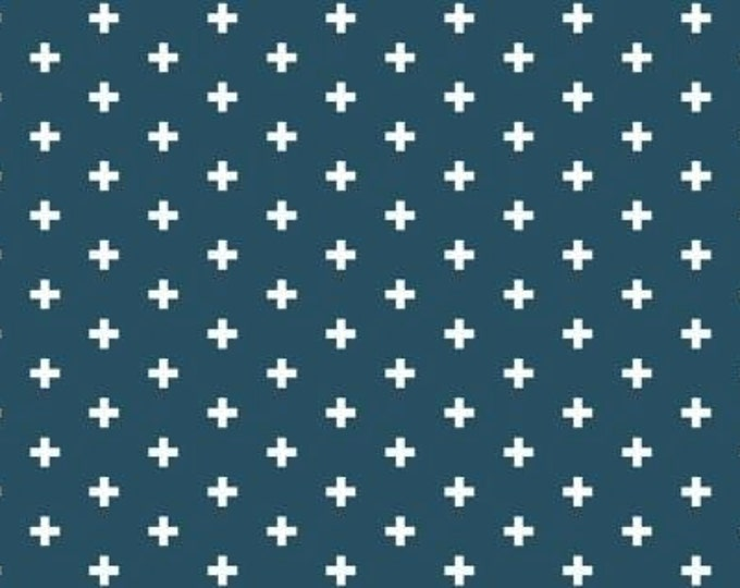 Dear Stella Positive Ink Blue Cotton Woven