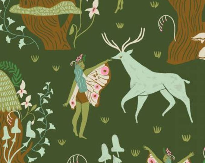Dear Stella - Woodland Nymph Clover cotton woven fabric