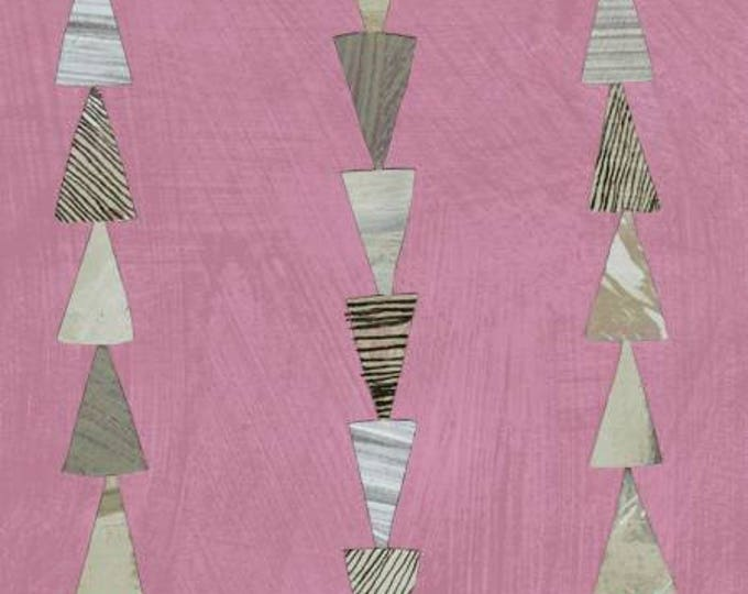Windham Fabrics - Dreamer by Carrie Bloomston - Rose Stripe Cotton Woven Fabric