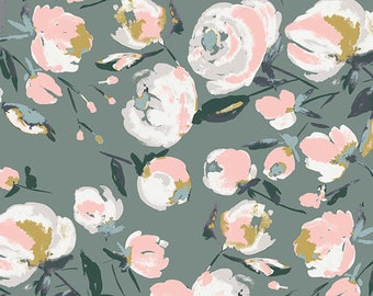 CLEARANCE - Art Gallery Fabric - Sparkler Fusion -Everlasting Blooms- Rayon - Priced per yard