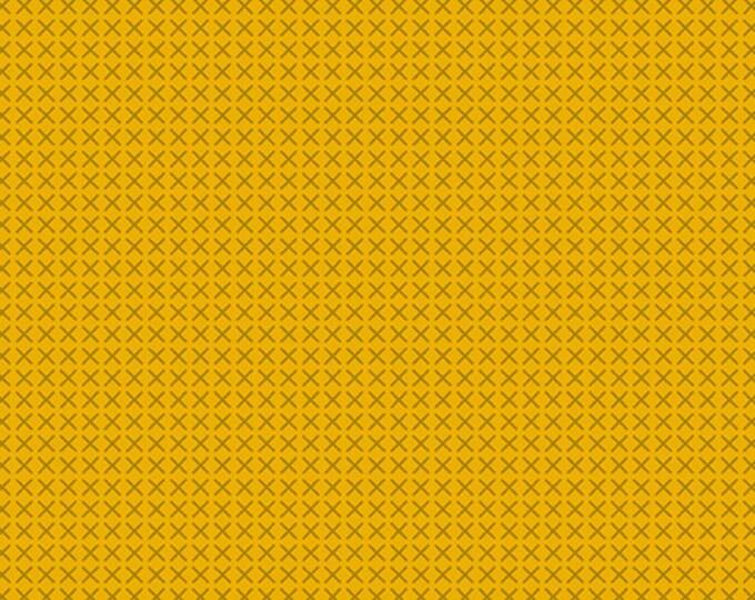 Andover Fabrics - Handiwork by Alison Glass - Cross Stitch Honey #9254-Y - Cotton Woven Fabric