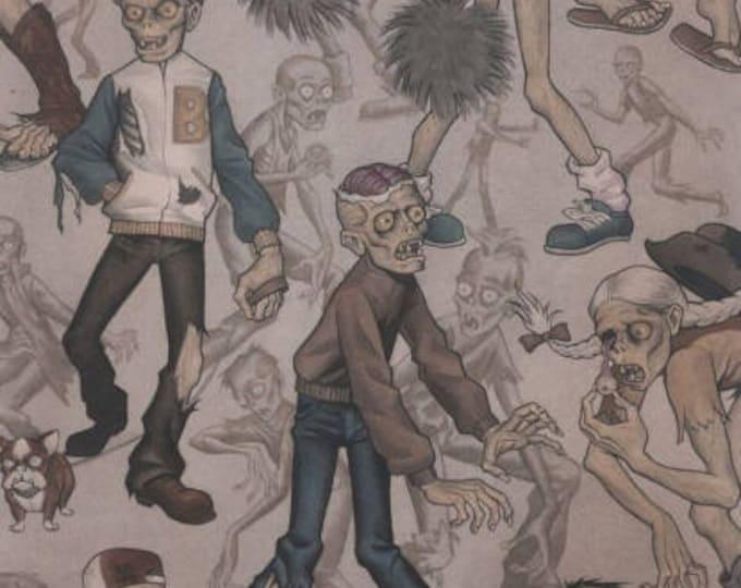 Alexander Henry Fabric - Zombie High Dirt cotton woven fabric