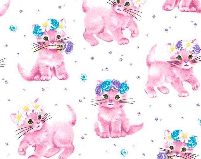 Michael Miller - Paw Prints for ASPCA - Cottonball Furry Princess dc8193_cottonball Cotton Woven Fabric