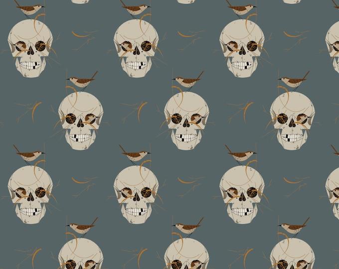 "Birch Organic Fabrics - Wrented by Charley Harper CH105 Organic Cotton/Elastane Knit - 58"" Organic Interlock Knits"