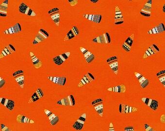 StudioE - Cheekyville - Orange Candy Corn #4671S-33 Cotton Woven Fabric
