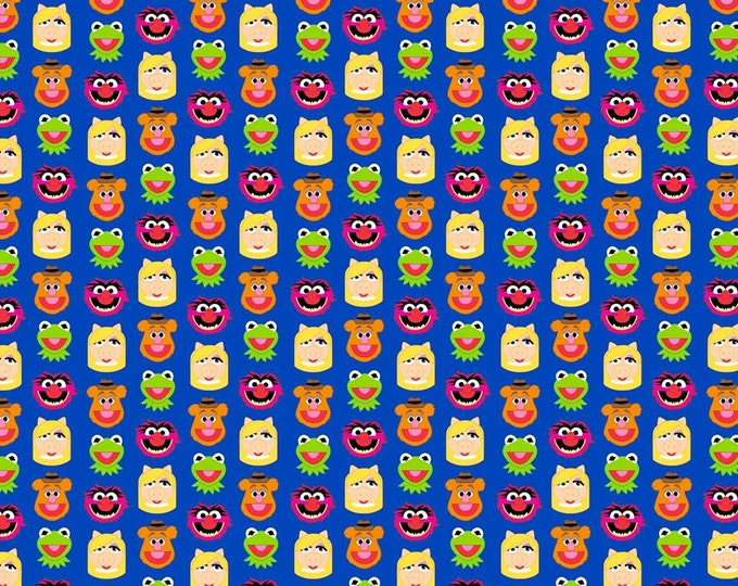 The Muppets Characters Emoji Cotton Woven, Springs Creative