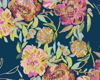Art Gallery Fabric - Virtuosa - Colorato Prima Flora - Cotton Spandex Knit