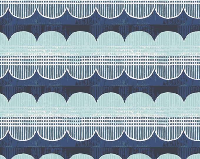 Art Gallery Fabrics - Enchanted Voyage by Maureen Cracknell - Winward Reflection ENV-61787 - Cotton Woven Fabric