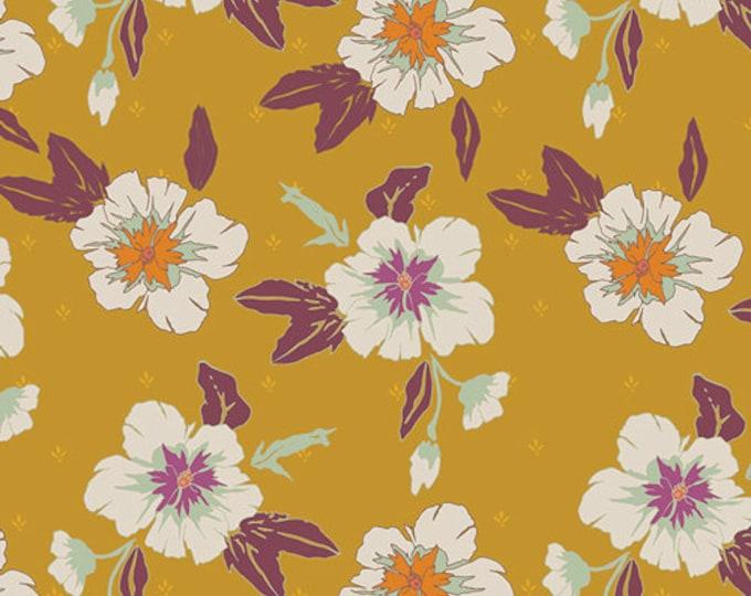 Art Gallery Fabrics - Autumn Vibes - Autumn Nectar - Honey -  Cotton Woven Fabric - Maureen Cracknell