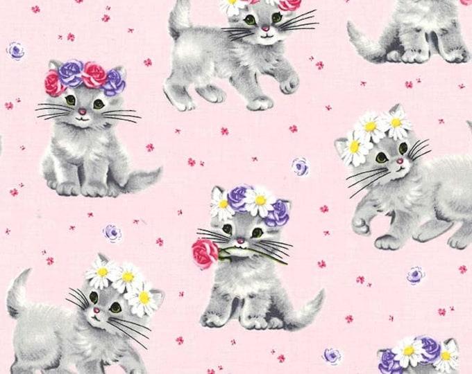 Michael Miller - Paw Prints for ASPCA - Princess Furry Princess dc8193_princess Cotton Woven Fabric