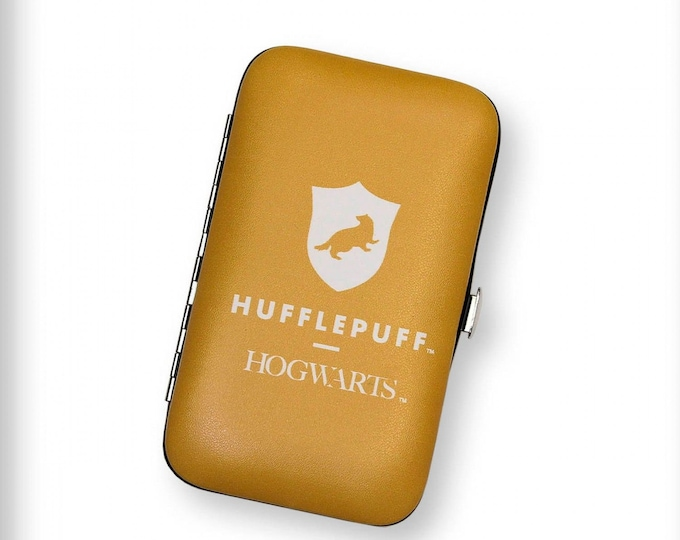 "Fun Stuff - Camelot Fabrics - Harry Potter Licensed Notions - Hufflepuff CN23402008 Sewing Kit 2.75"" x 4.75"""