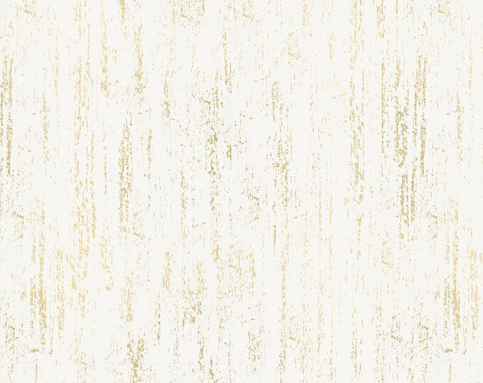 Moda Fabrics - Crescent by Sarah Watts of Ruby Star Society - Brushed Metallic Gold RS2005 11M - Cotton Woven Fabric