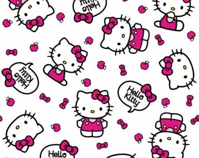 Springs Creative - Hello Kitty - Kitty Toss - Cotton Woven Fabric