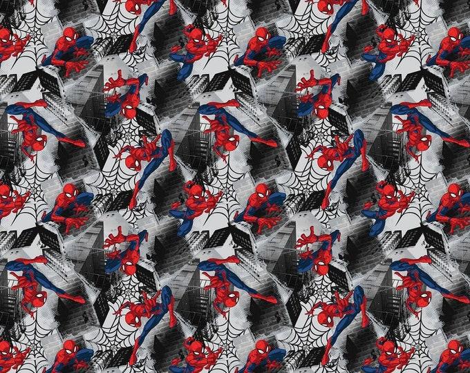 Springs Creative - Marvel Spider-Man Neighborhood Spider-man # 674546510715 Licensed Cotton Woven Fabric