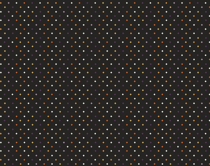 Riley Blake - Fab-Boo-Lous Witches by Dani Mogstad - Diamonds Black #C8176R-BLACK Cotton Woven Fabric