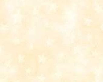 CLEARANCE -        MODA Marble Stars Natural Tone Cotton Woven 1 Yard- Price is per yard !
