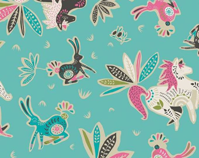 Tallinn by Jessica Swift of Art Gallery fabrics, Zirkusbau Candy cotton fabric