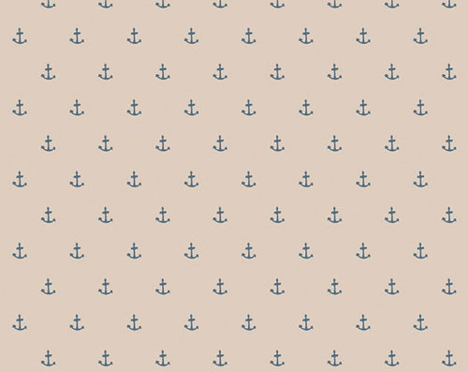 CLEARANCE - Art Gallery Fabric - Enchanted Voyage by Maureen Cracknell - Nautique Spell Sand ENV-61781 Cotton Woven Fabric - Priced per yard
