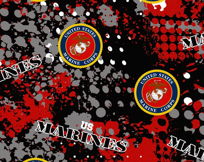 Marines Seal Cotton Woven # MARINES-1180 - Military and Public Service Cotton Woven Fabric