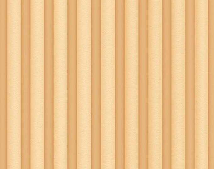 Gorjuss Heartfelt Light Chamois Stripes, cotton woven by Quilting Treasures