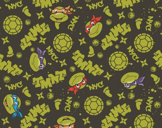 Springs Creative - Teenage Mutant Ninja Turtles - NYC - Cotton Woven Fabric