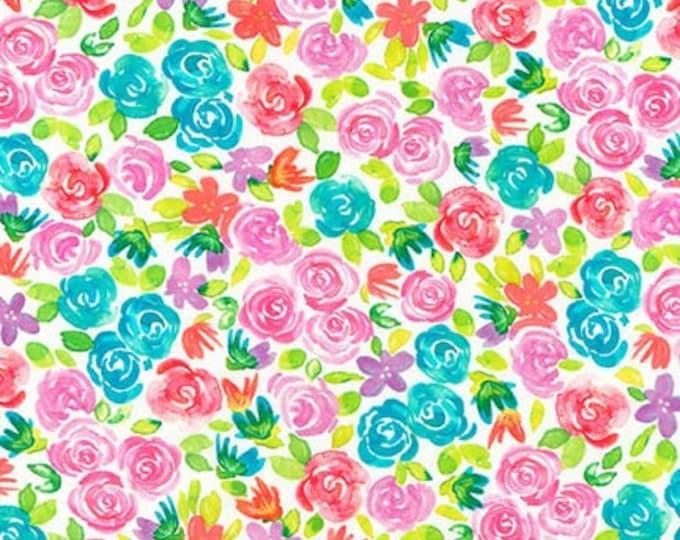 Rainbow ATYD-18419-263 Cotton Woven Fabric - Girl Power 2 by Dawn Tumelty for Robert Kaufman Fabrics